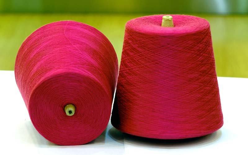 Cotton Gassed Mercerized Yarn Cgm Mercerzied Dyed Yarn